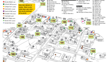 Call Box Locations | Public Safety | Allegheny College