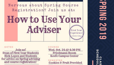How to Use Your Advisor   Event Calendar   Amherst College
