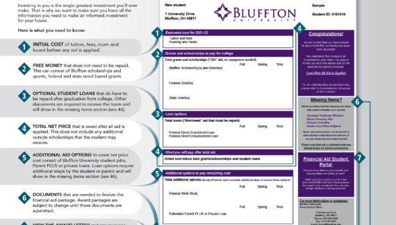 Financial Aid and Assistance - Bluffton University