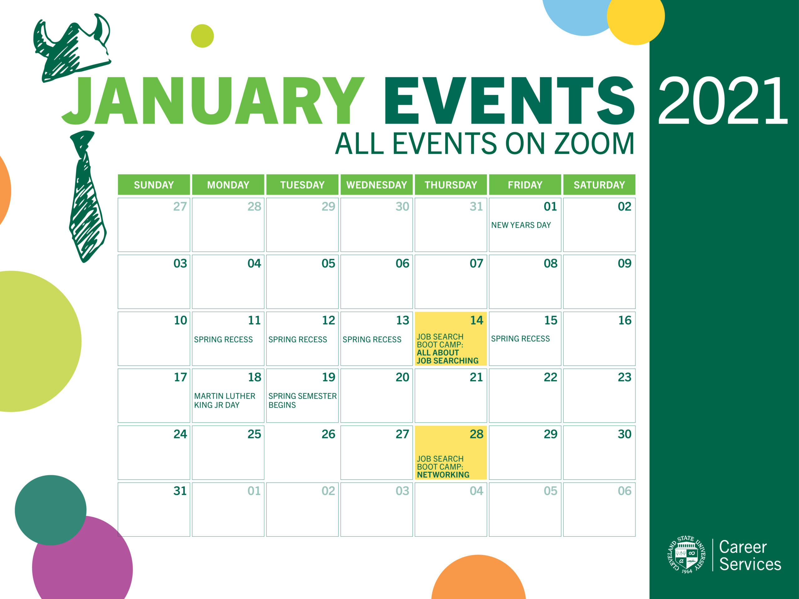 Our Calendar and Events   Cleveland State University