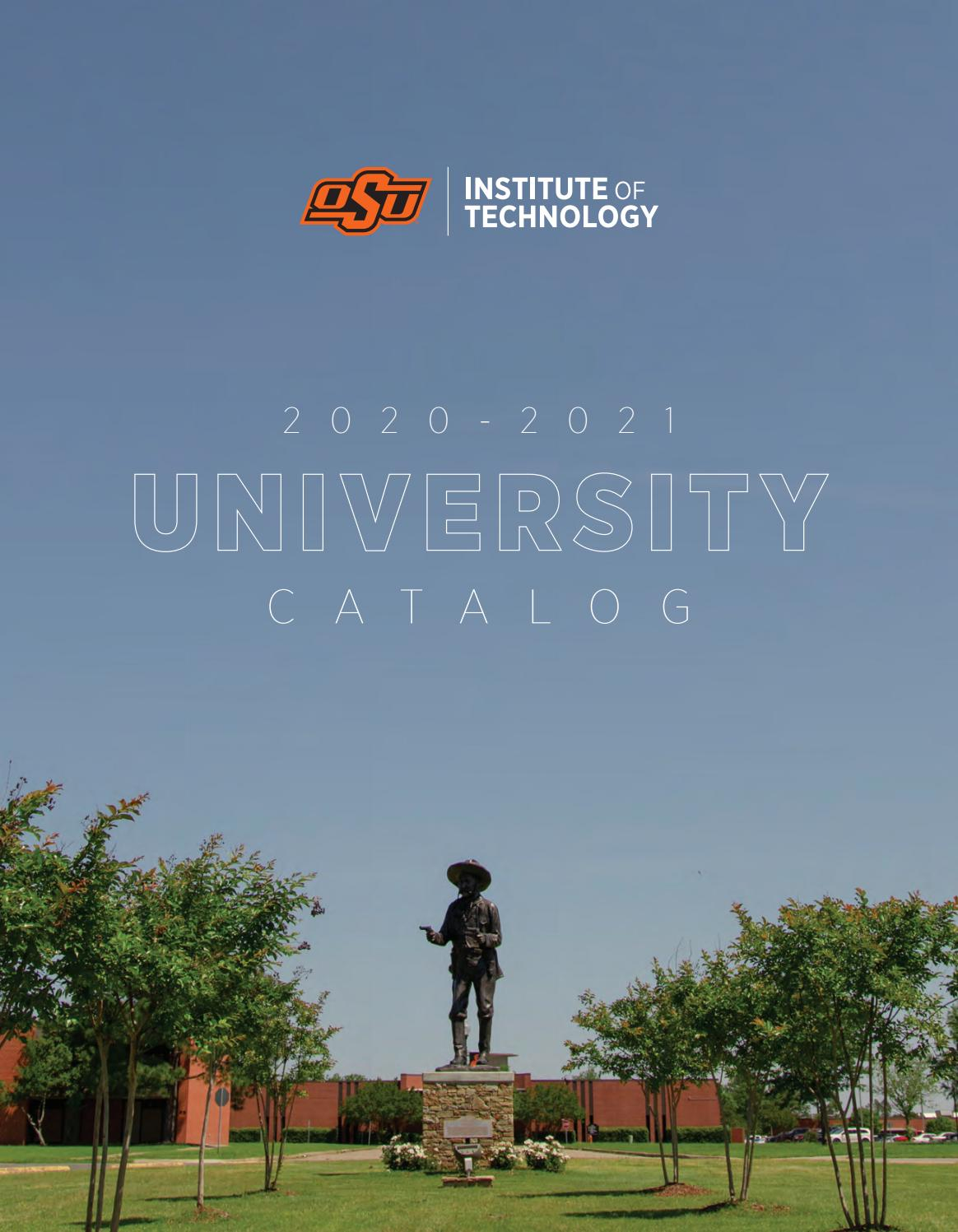 2020-2021 OSUIT Academic Calendar (Revised 8/11/2020) by ...