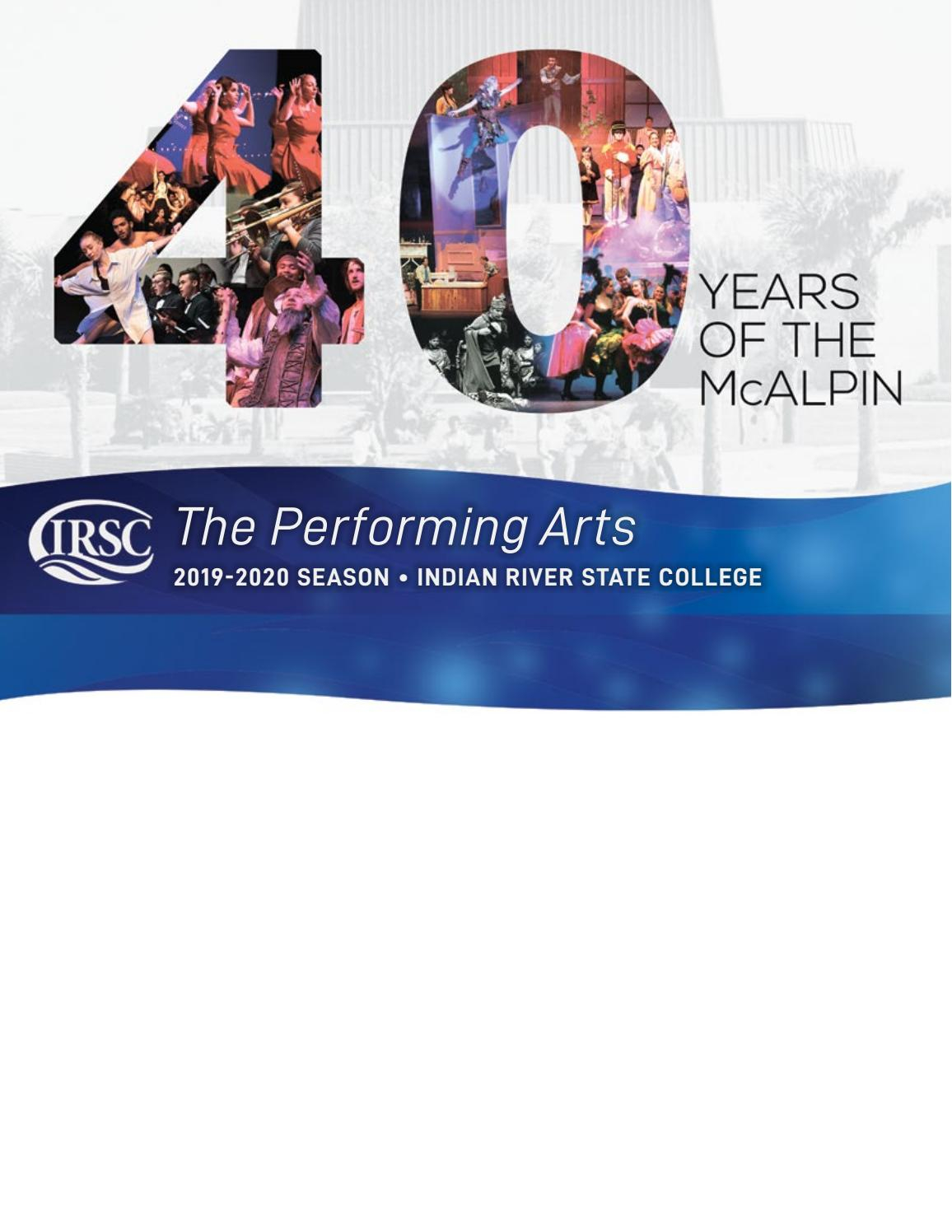 2019-2020 Indian River State College Performing Arts Season ...
