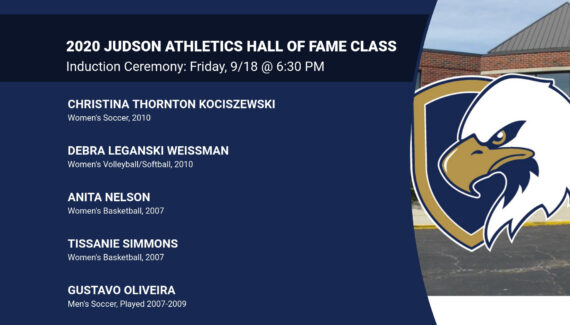 Judson Athletics' Hall of Fame Class of 2020 | Judson ...