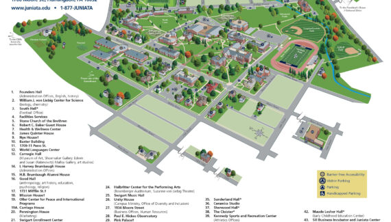 Juniata College   offices marketing standards-guide campus-maps