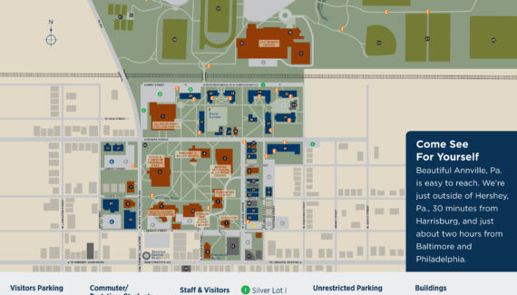 Campus Map | Lebanon Valley College