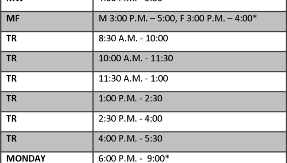 Academic and Classroom Scheduling   Marywood University