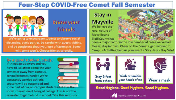 Information for Students and Parents :: Mayville State ...