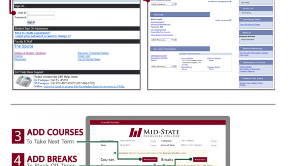 Schedule Planner | Mid-State Technical College