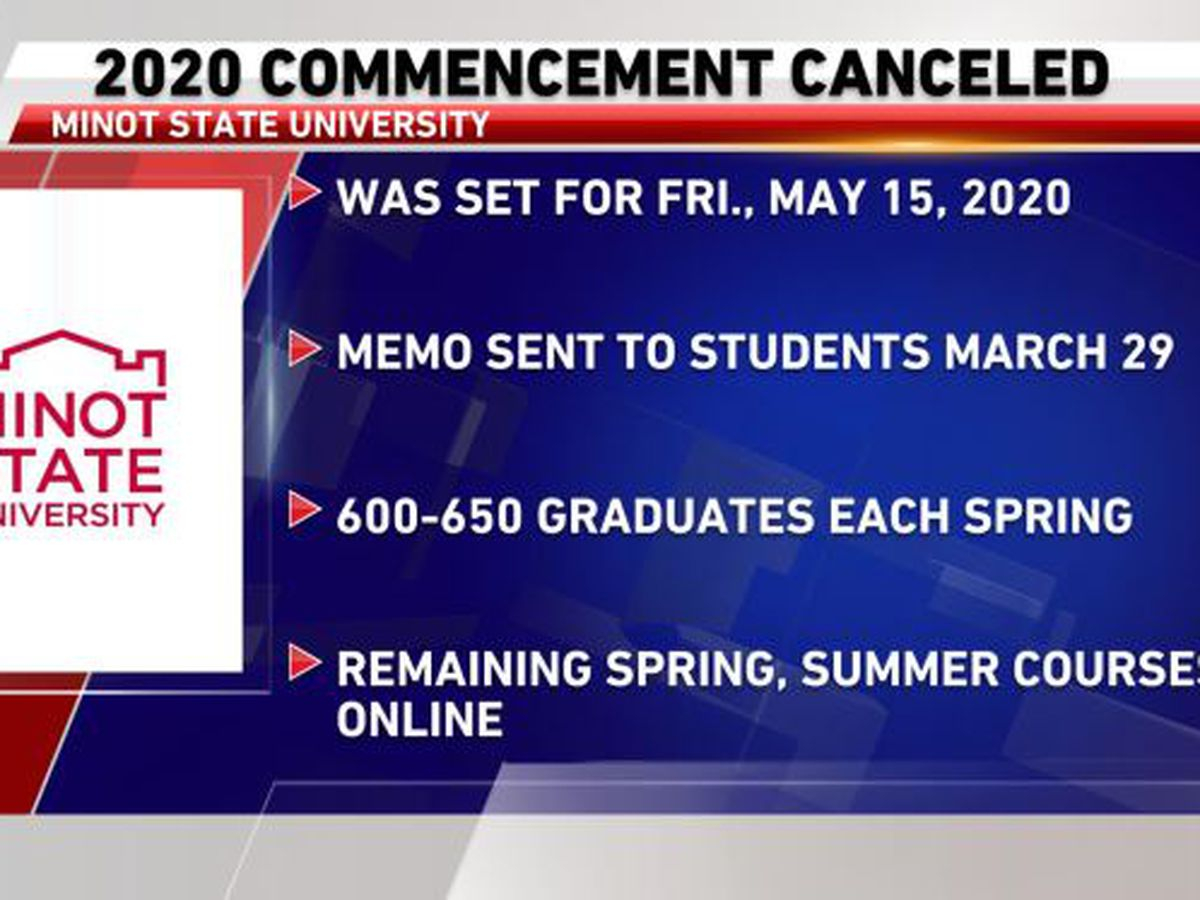 Minot State University cancels 2020 spring commencement