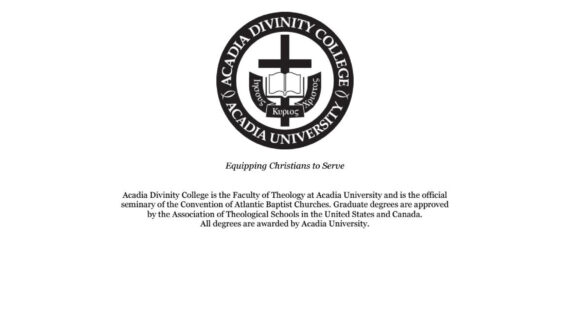 2016-2017 ADC Academic Calendar by Acadia Divinity College ...