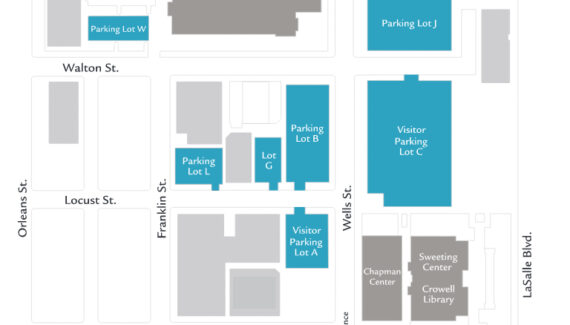 Campus Map | MTS Chicago | Moody Bible Institute