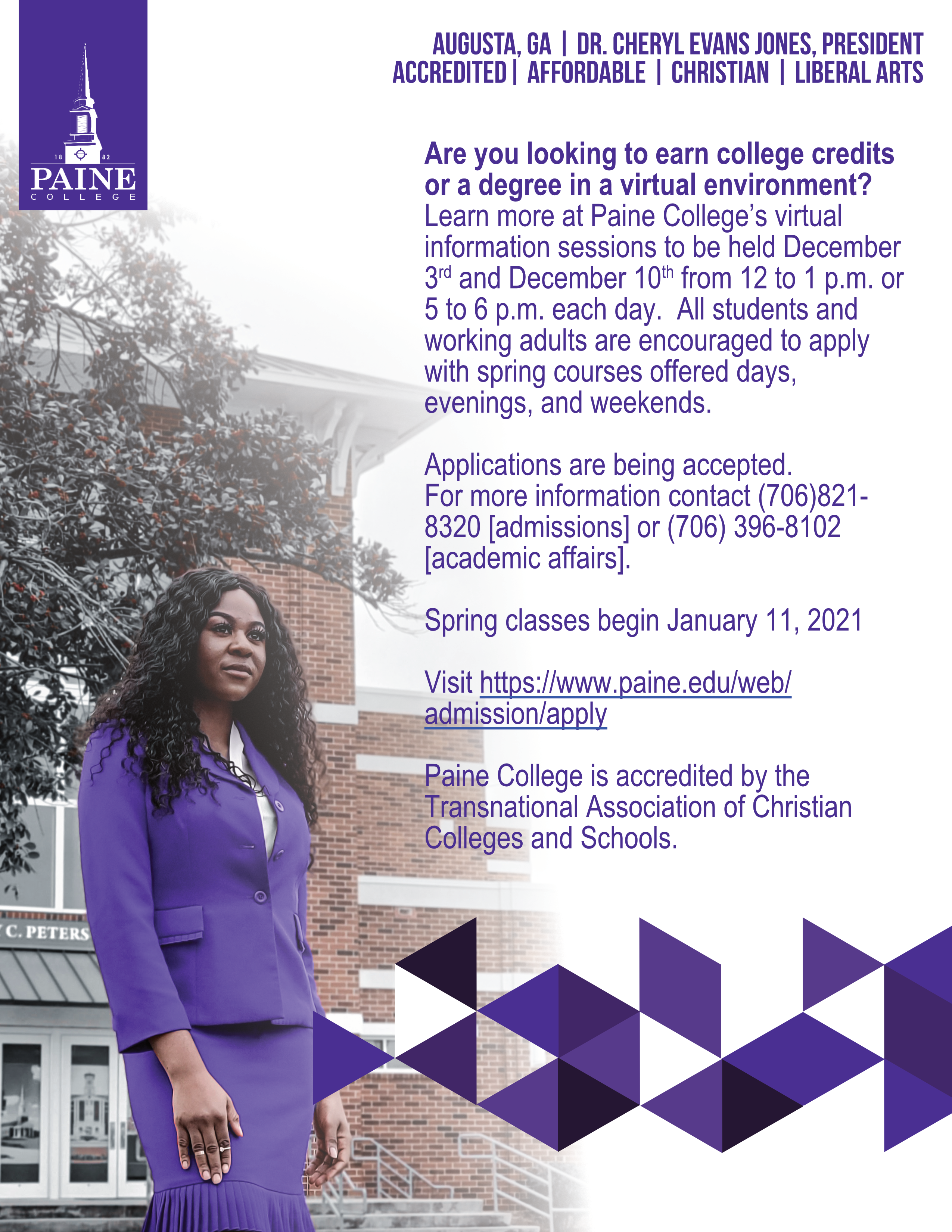 home - Paine College