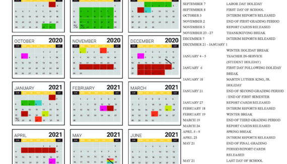 2020 - 2021 Academic Calendar – Student Support Services ...