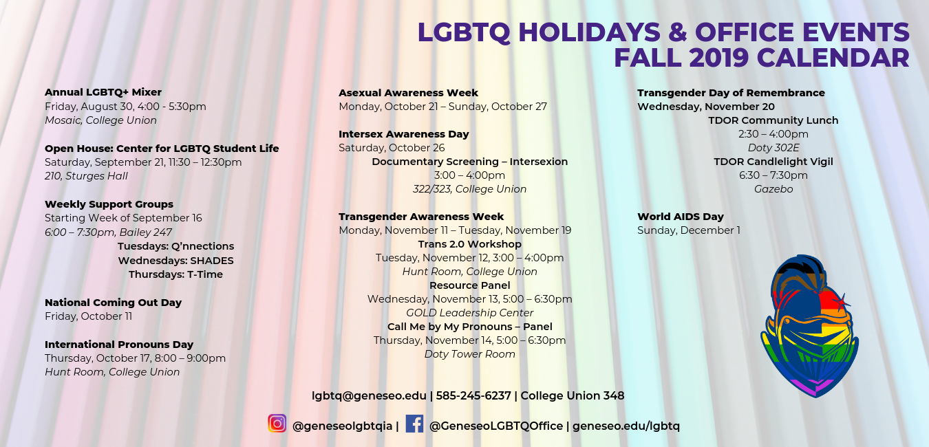 Programs and Events | SUNY Geneseo