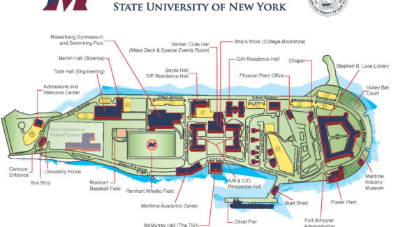 Campus Map | SUNY Maritime College