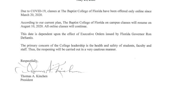 Baptist College of Florida | About BCF