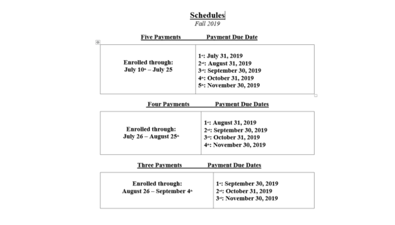 Payment Plan | University of Maryland Eastern Shore