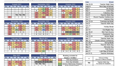 Academic Calendars - Academy for Science and Design