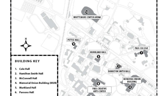 UNH-Durham Campus Map | University of New Hampshire
