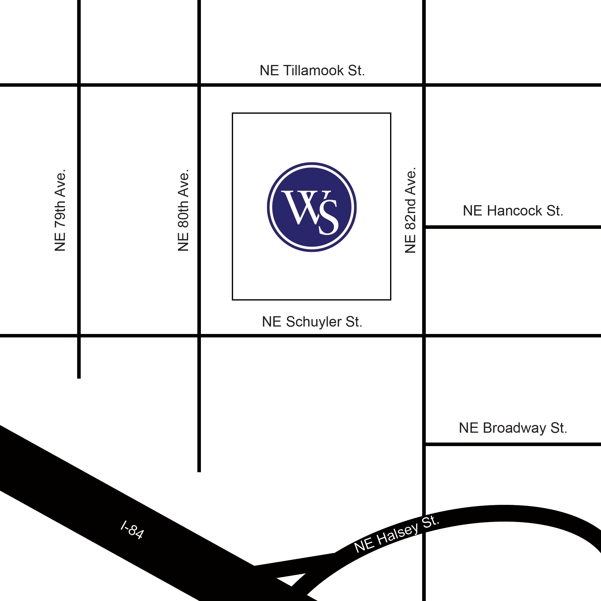 Campus Map and Directions - University of Western States
