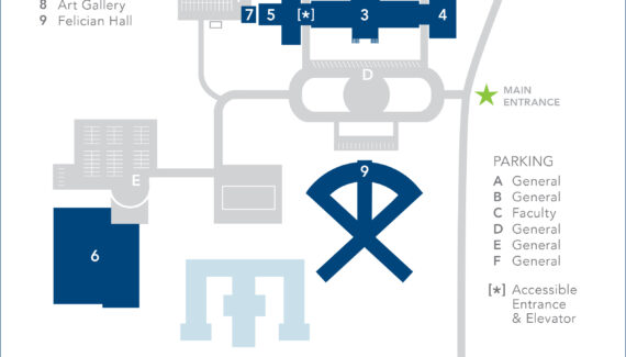 Campus Map | Villa Maria College - Take Your Talent Further