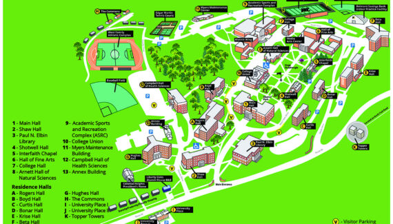 Directions to West Liberty University and Campus Map -