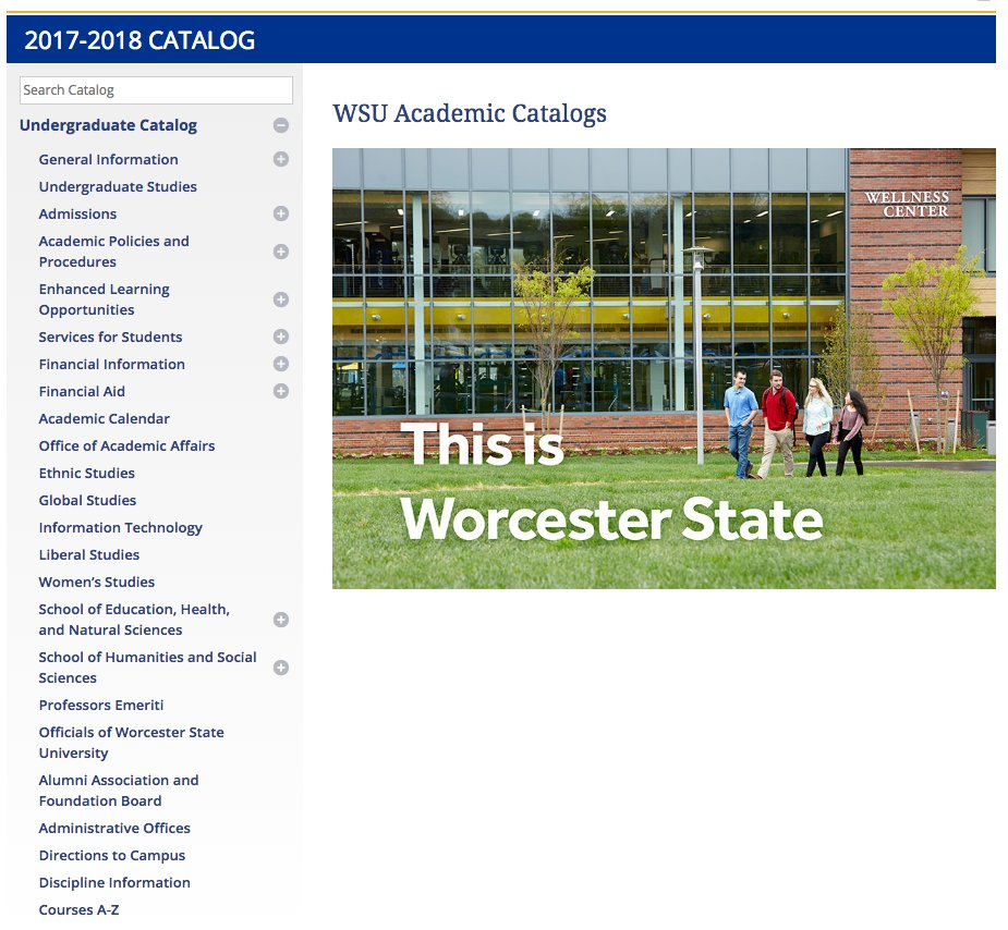 Worcester State on Twitter: